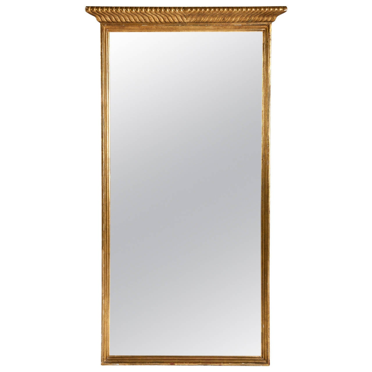 Vintage wall mirror at 1stdibs for Antique wall mirrors