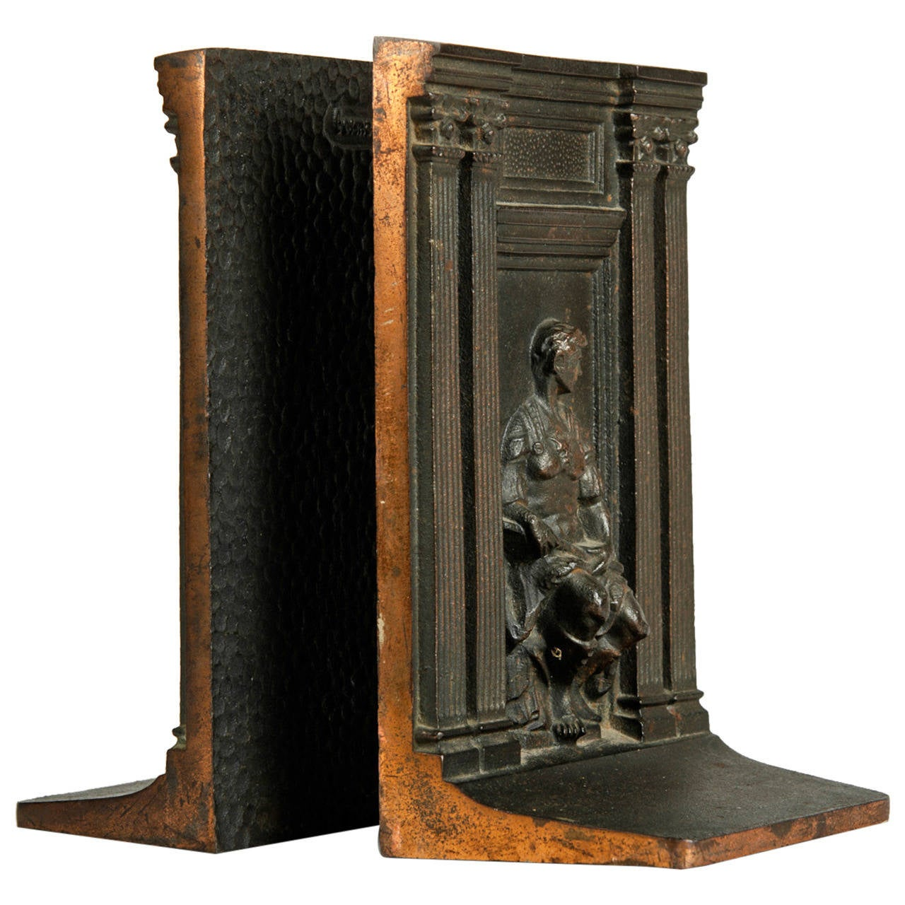Antique Bronze Bookends At 1stdibs
