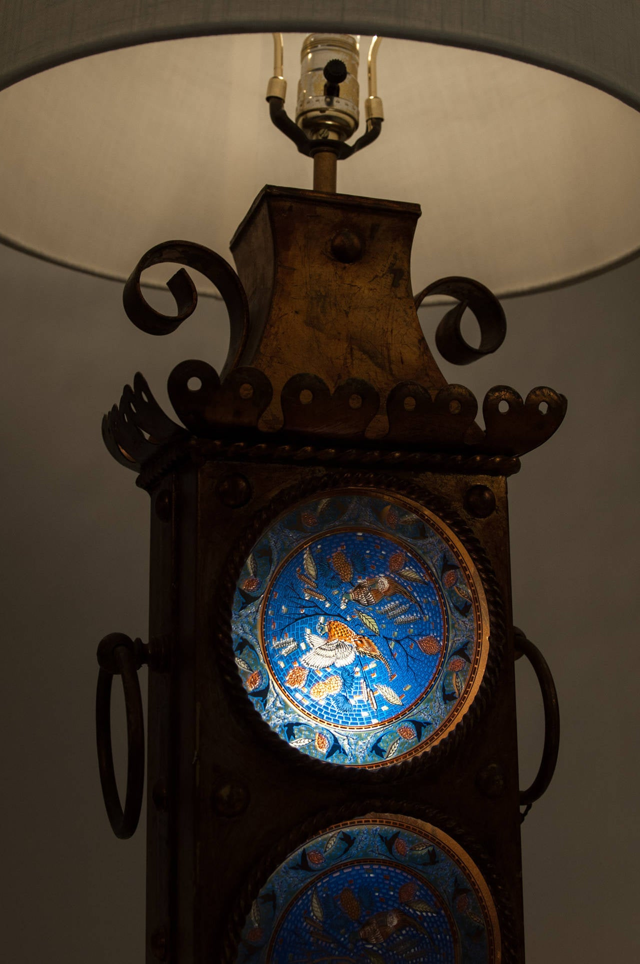 this antique european gilted lamps with stained glass is no longer. Black Bedroom Furniture Sets. Home Design Ideas