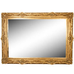 Gold floor mirrors and full length mirrors 12 for sale for Gold frame floor mirror