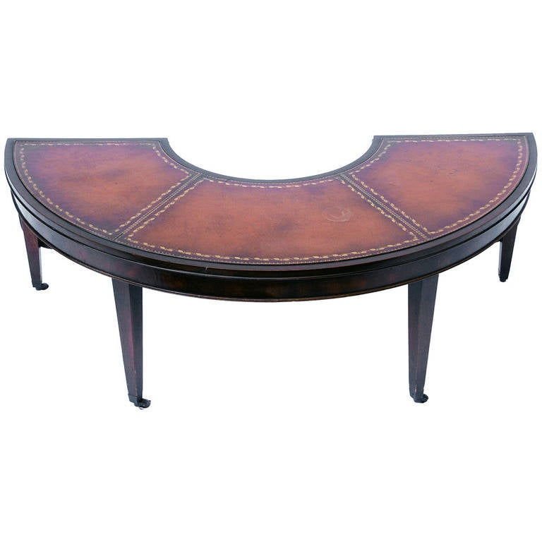 Crescent Drop Leaf Coffee Table At 1stdibs