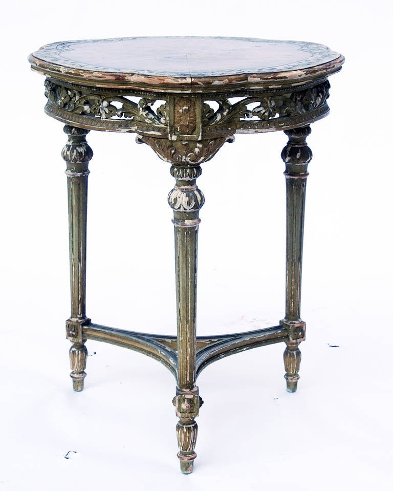 Antique side table at 1stdibs for Side end table