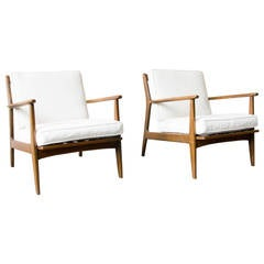 Pair of Baumritter Lounge Chairs