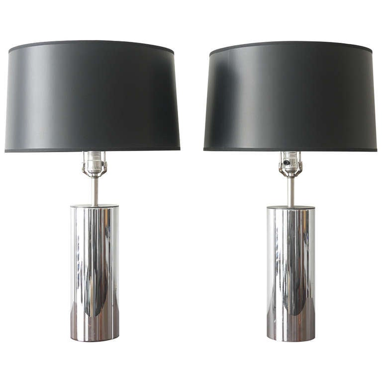 George Kovacs Chrome Lamps