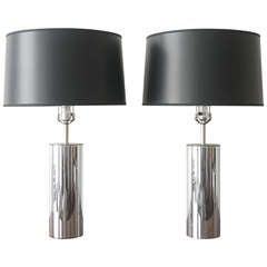 George Kovacs Chrome Lamps