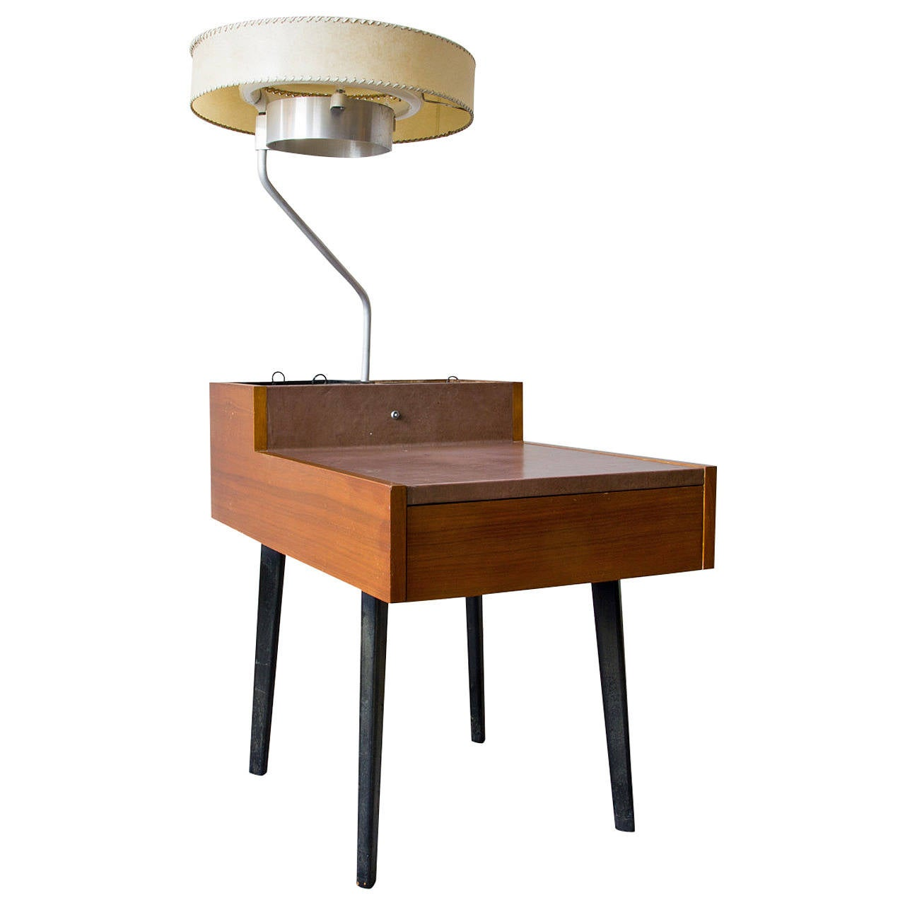 Transitional coffee table - George Nelson Planter And Lamp Table Model 4634 L