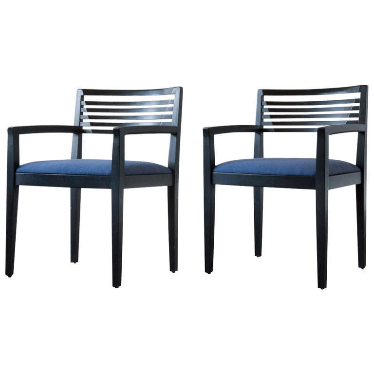 Knoll Home Design Shop: Knoll Studio Ricchio Chairs At 1stdibs