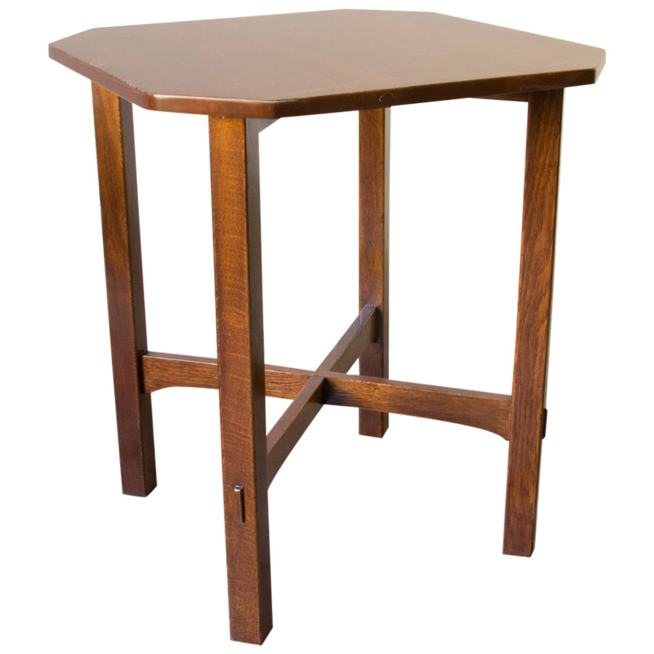 gustav stickley l table at 1stdibs
