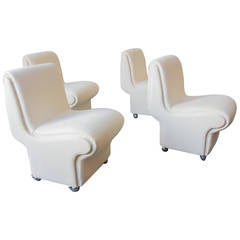 Rare 1982 Paul Evans Dining Chairs