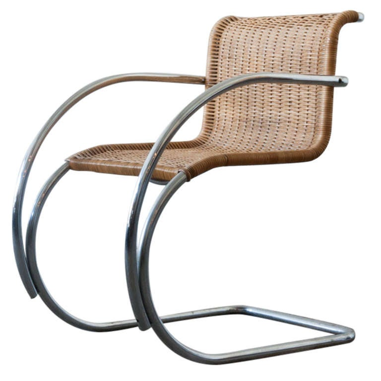 mies van der rohe mr20 chair at 1stdibs. Black Bedroom Furniture Sets. Home Design Ideas