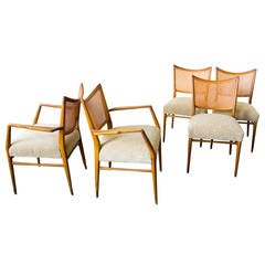 Sculptural Italian Dining Chairs