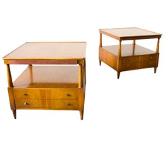 John Widdicomb End or Snack Tables