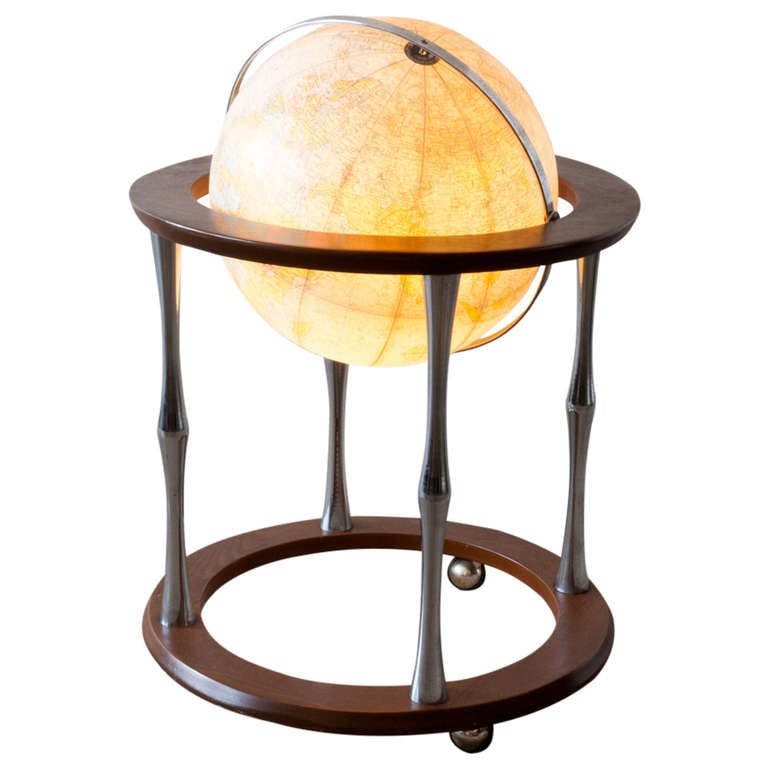Replogle Terrestrial Floor Globe For Sale