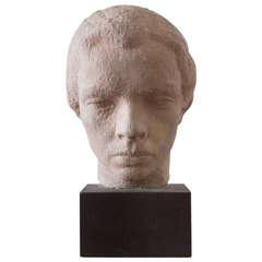 """Gaetano Cecere Plaster Sculpture """"Eunice"""" #11"""