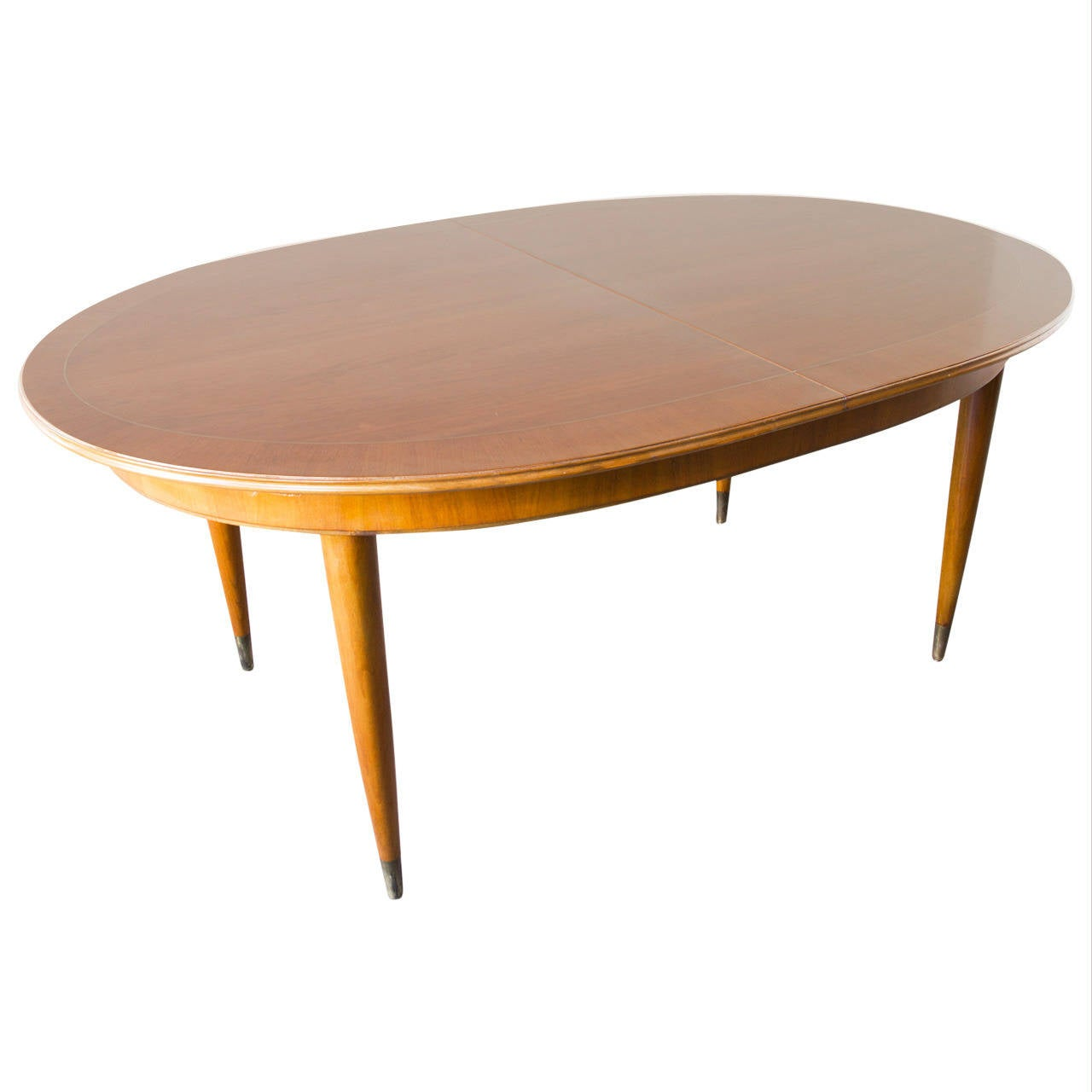 oval dining tables with extensions inlaid oval extension table at 1stdibs 7251