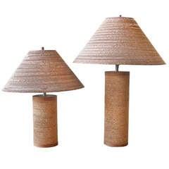 Gregory Van Pelt Cardboard Lamps