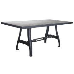 Steel Top Machine Lathe Base Table