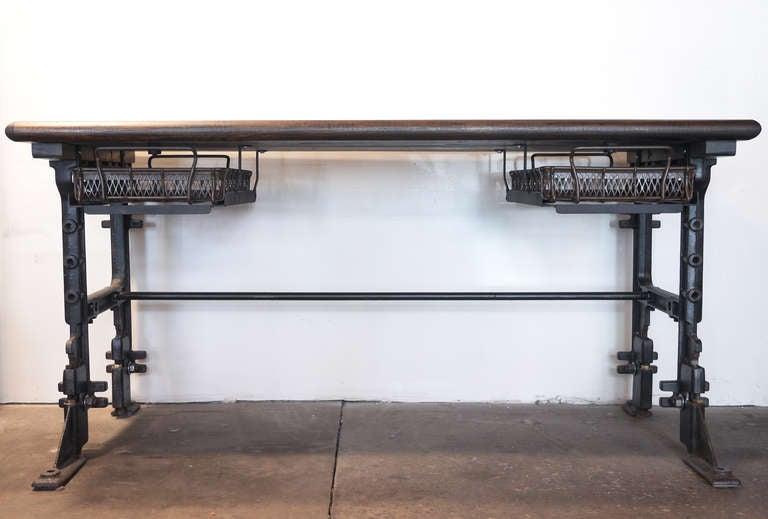 Industrial Desk at 1stdibs