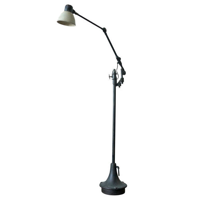 Industrial Floor Lamp For Sale