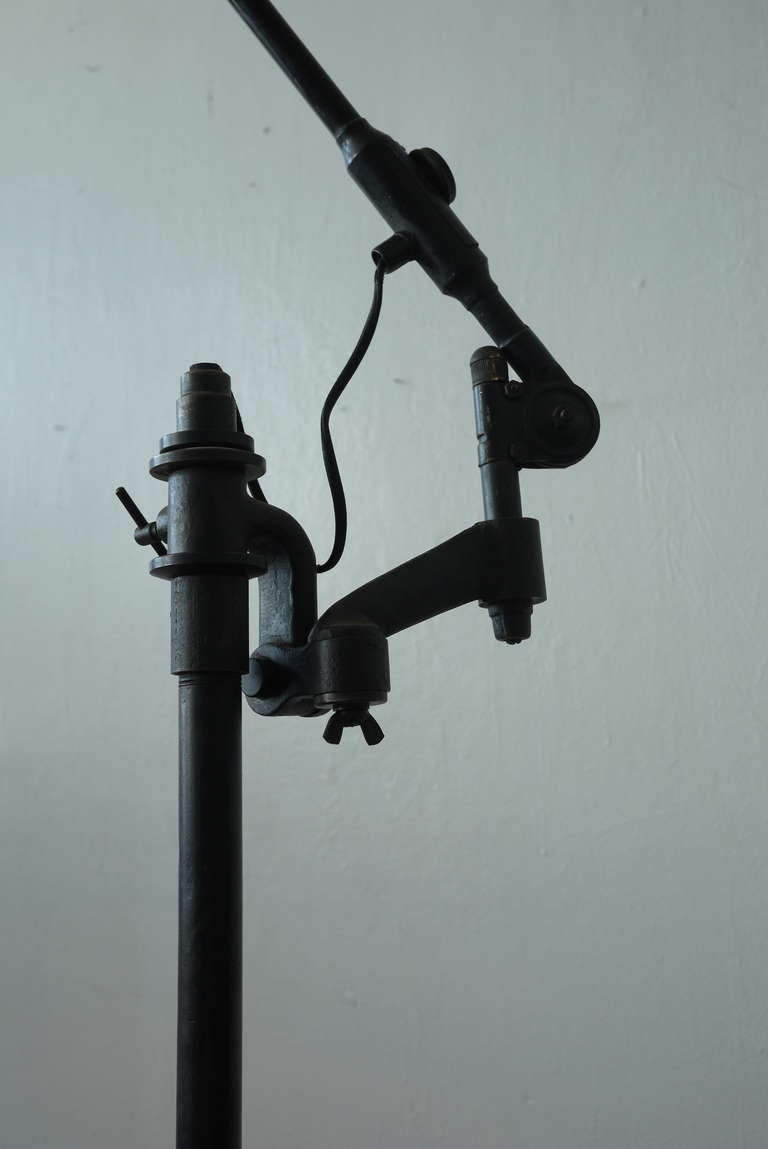 Industrial Floor Lamp For Sale 1