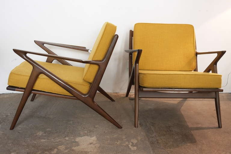 Poul jensen selig z chairs at 1stdibs for Poul jensen z chair