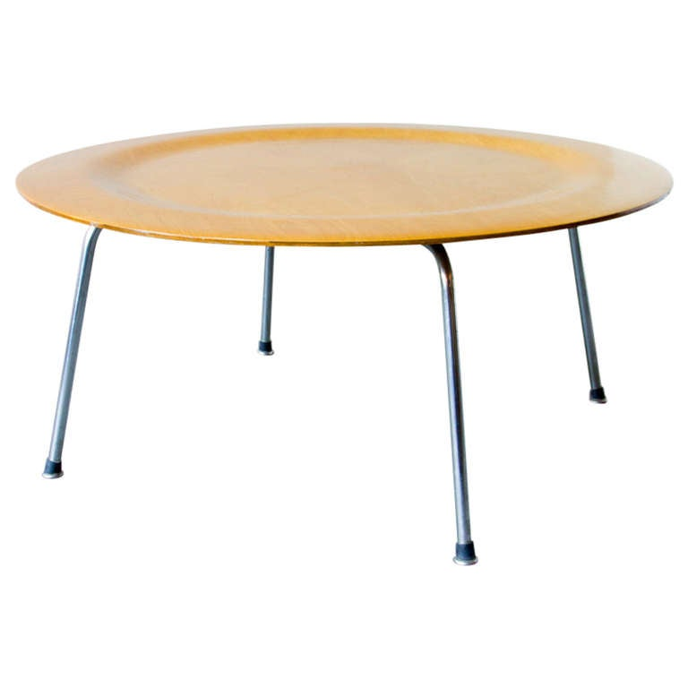 Eames Coffee Table Square: Eames CTM Birch Coffee Table At 1stdibs