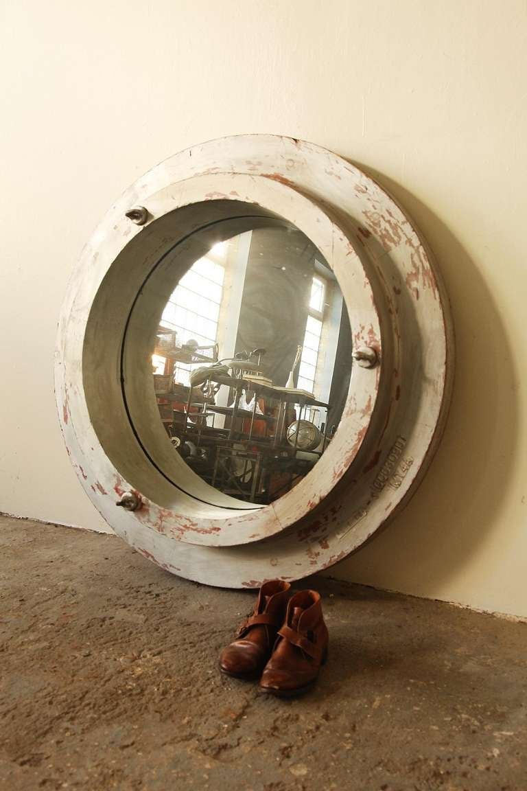 Repurposed Factory Mold Mirror For Sale At 1stdibs