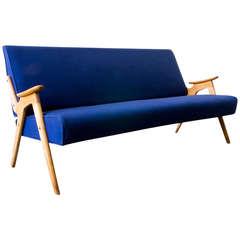 Mid-Century Tweed Sofa
