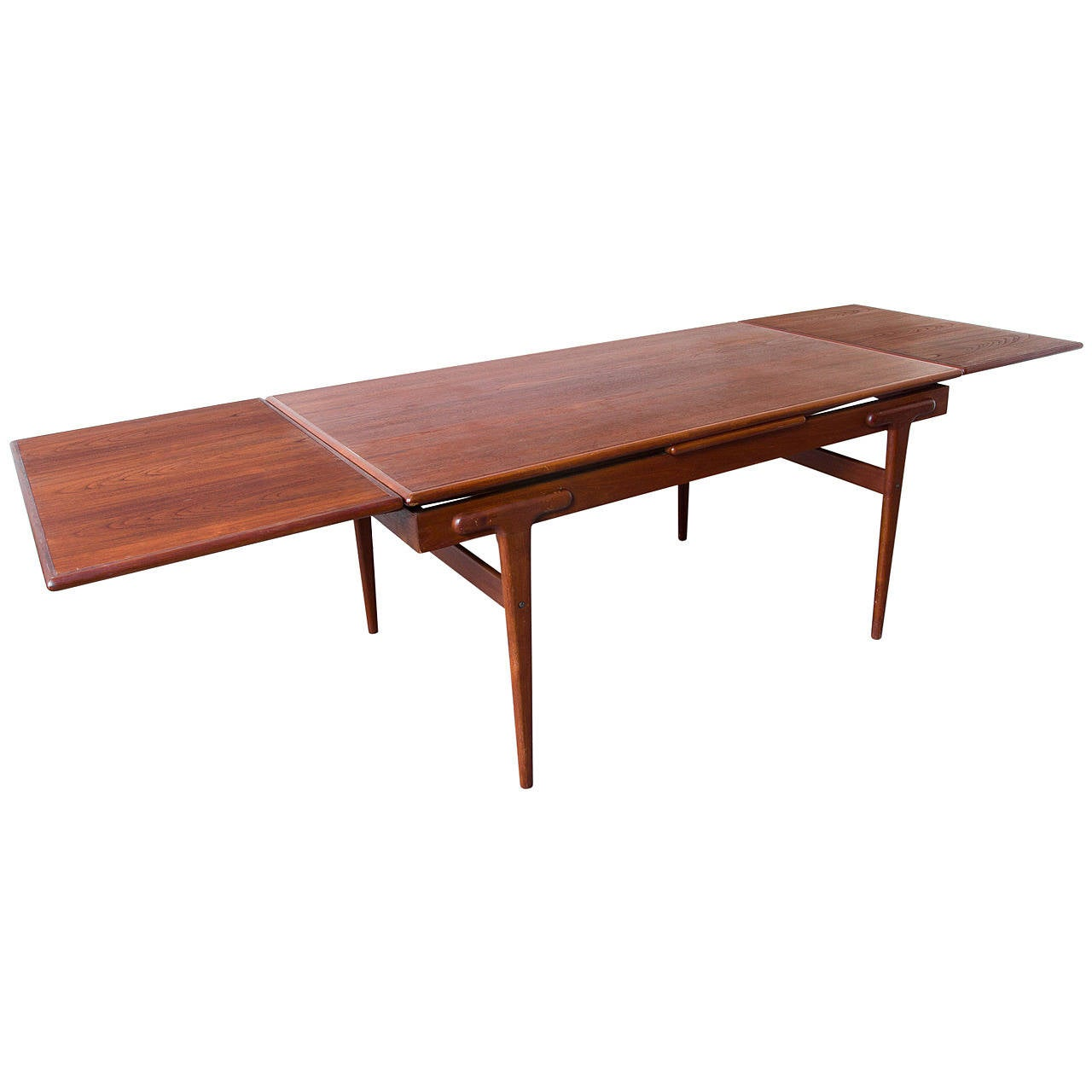 danish teak extension dining table for sale - Extension Dining Table