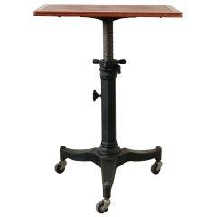 Antique Optometrist's Table