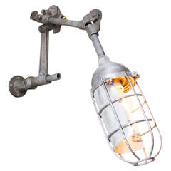 Woodward Caged Lamp