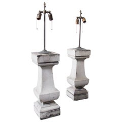 Architectural Pedestal Lamps