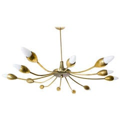 Brass Sputnik Chandelier
