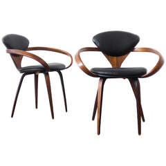 Norman Cherner Pretzel Chairs