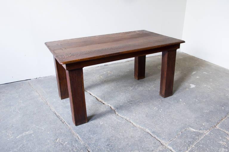 primitive oak farm table at 1stdibs