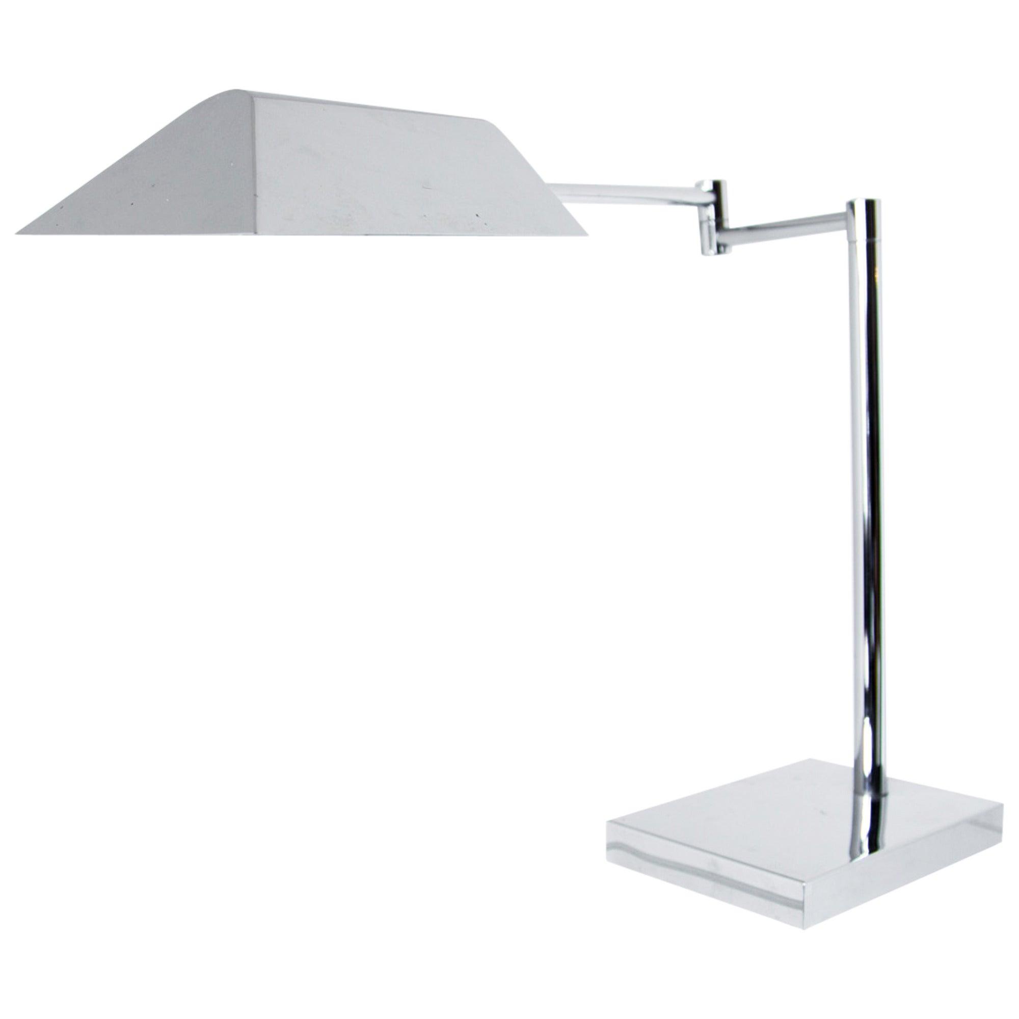 Koch & Lowy Chrome Desk Lamp