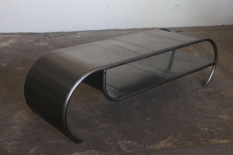 Scrap Metal Coffee Table At 1stdibs