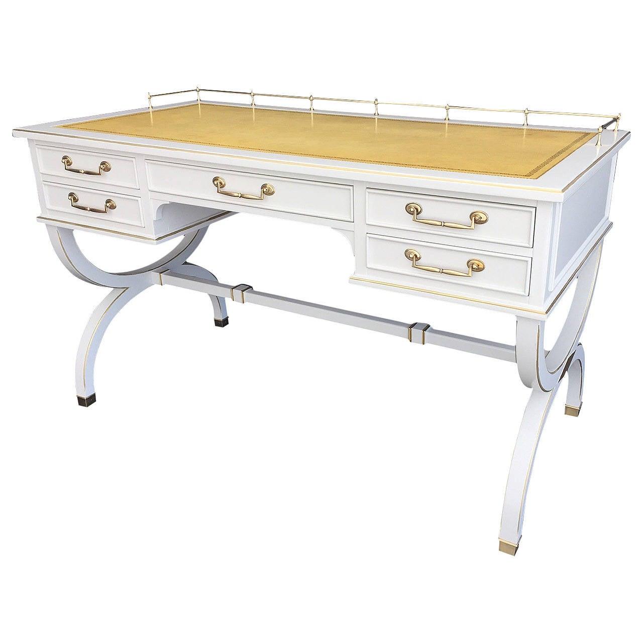 Charming Hollywood Regency Desk For