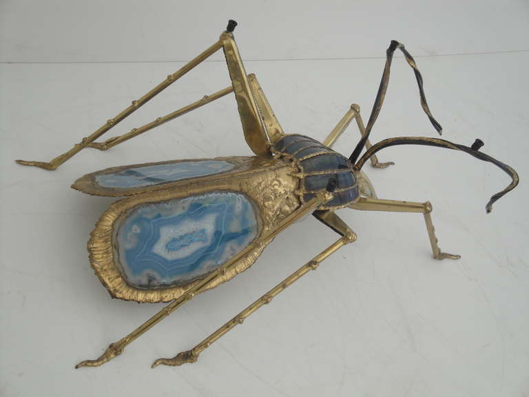 French Henri Fernandez Beetle Sculpture or Coffee Table for Atelier Duval-Brasseur For Sale
