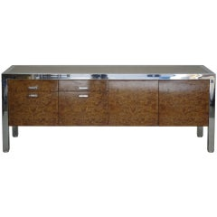 Leon Rosen for Pace Collection Olive Burl Credenza