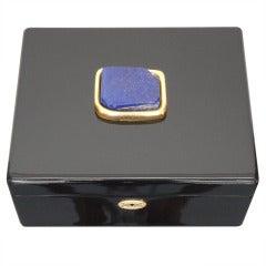 Lapis Lazuli Jewelry Box