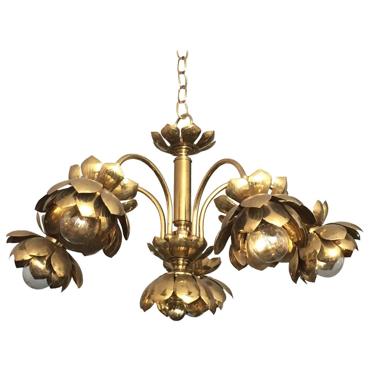 lotus en and fruits rezzonico glass chandelier chandeliers murano flowers