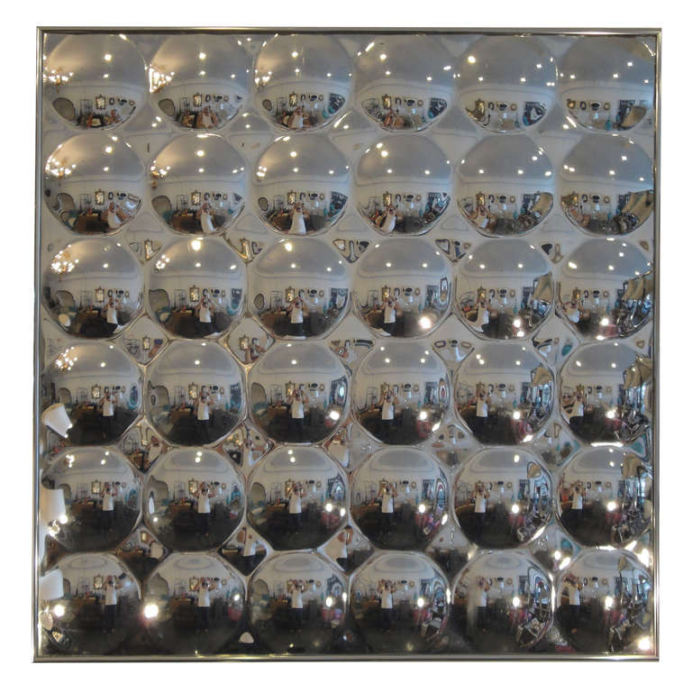 Pop Art Acrylic Bubble Mirror Wall Decor At 1stdibs