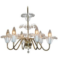 Emil Stejnar Small Fountain Chandelier