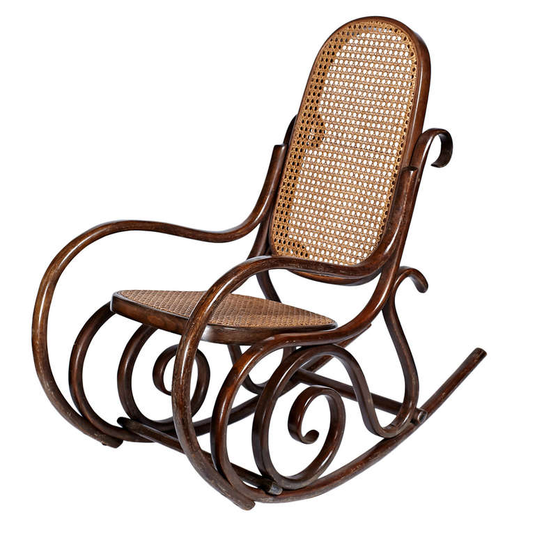Bentwood Children's Rocking Chair at 1stdibs