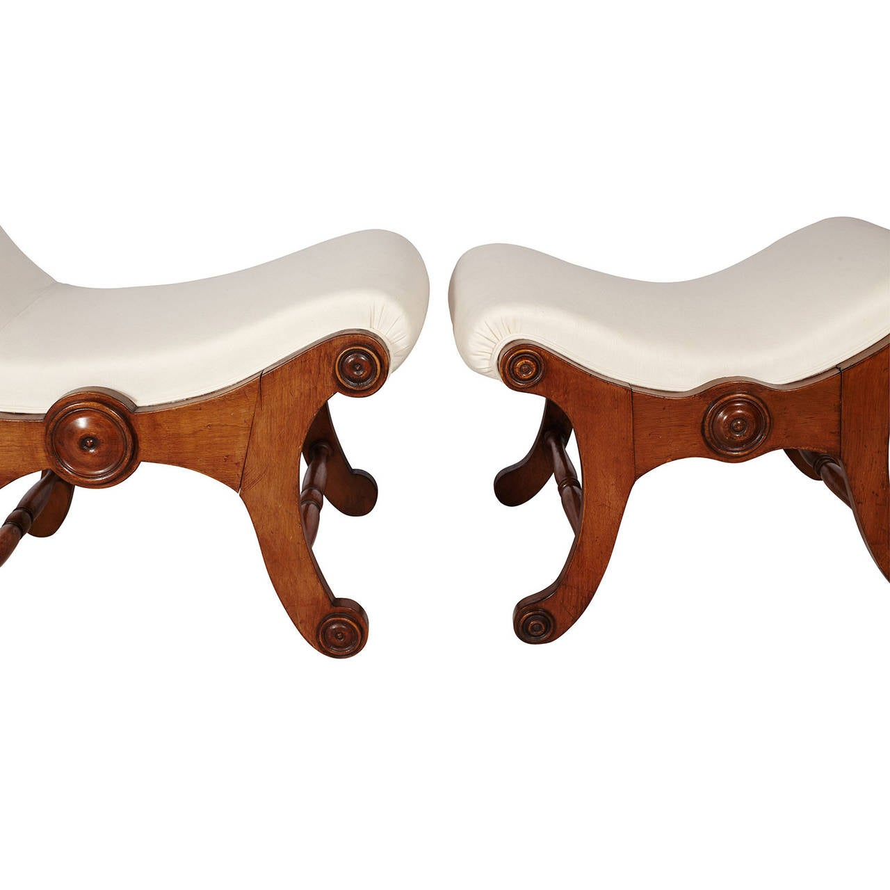 Victorian Slipper Chair And Ottoman At 1stdibs