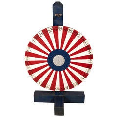 Vintage Striped Game Wheel