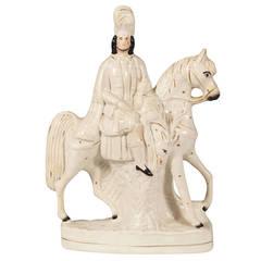 Late 19th Century Victorian Staffordshire Porcelain Figurine