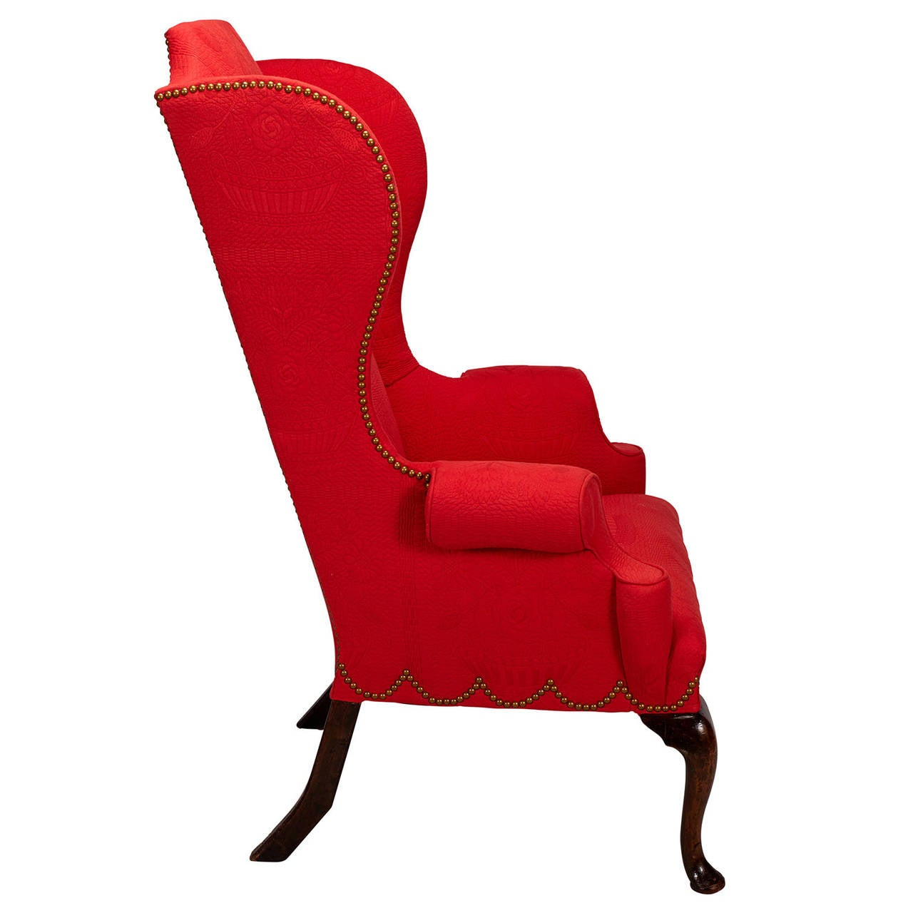 george ii style high back wing chair 2