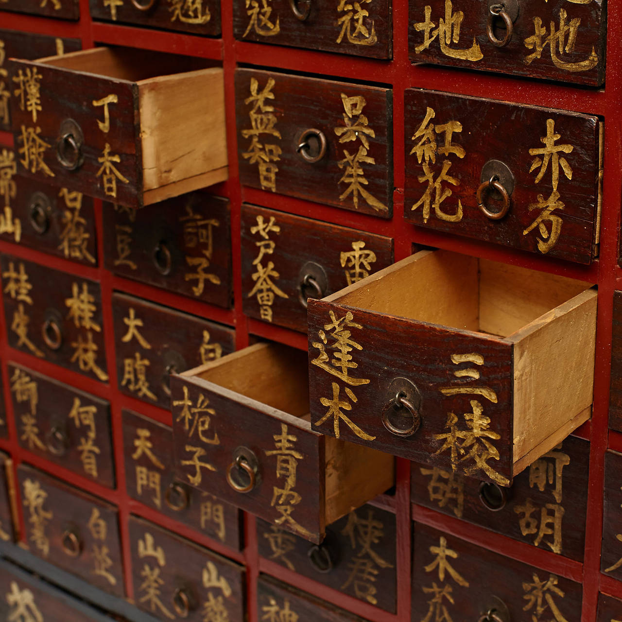 Korean Herbal Apothecary Chest For Sale at 1stdibs
